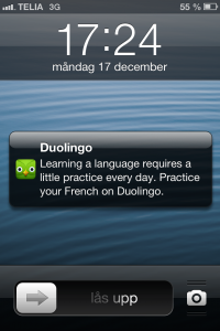 Duolingo Push Reminder