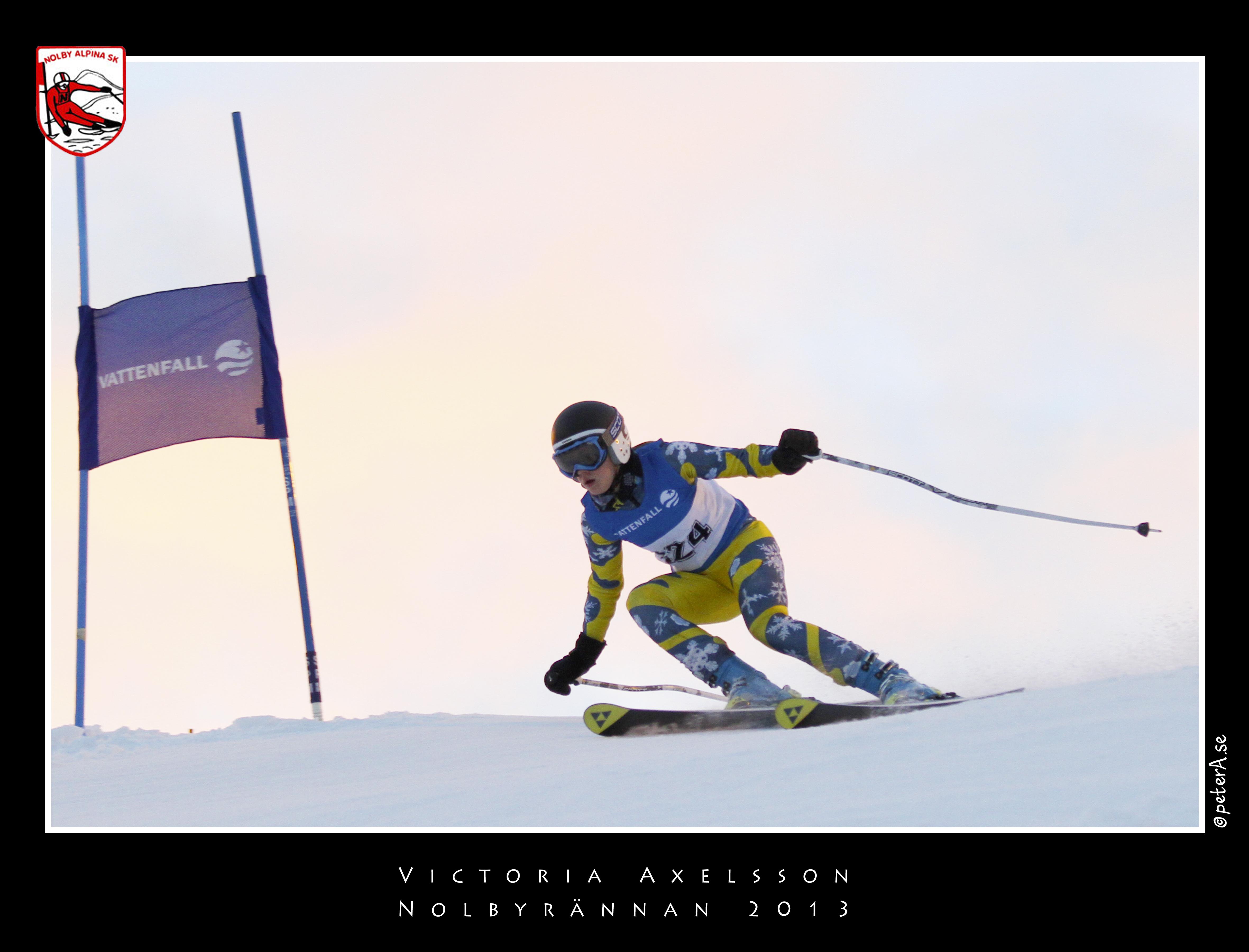 Nolbyrännan 2013 - Victoria Axelsson