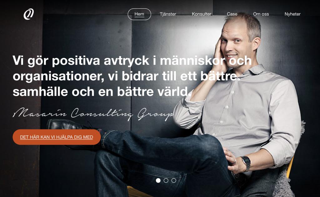 Masarin Consulting - Vi gör positiva avtryck